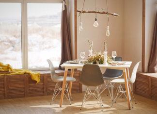 Meble drewniane w nowoczesnym wnętrzu